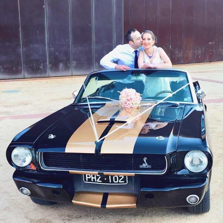 1966 Shelby GT350H Convertible Ford Mustang on a wedding shoot at Malthouse Theatre 1966 Shelby GT3