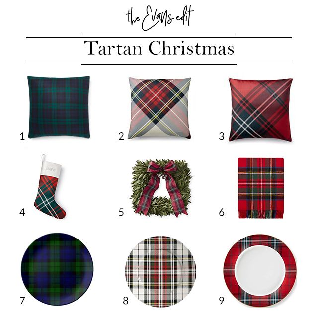 Christmas Decorating Tartan Edition Plaid Christmas Decor