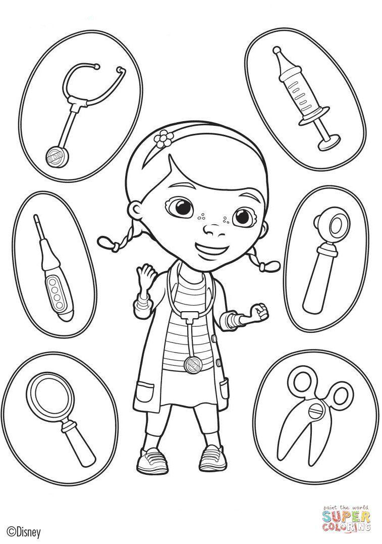 Doc-Mcstuffins-Coloring-Pages (57).jpg (757×1077) | Coloring ...