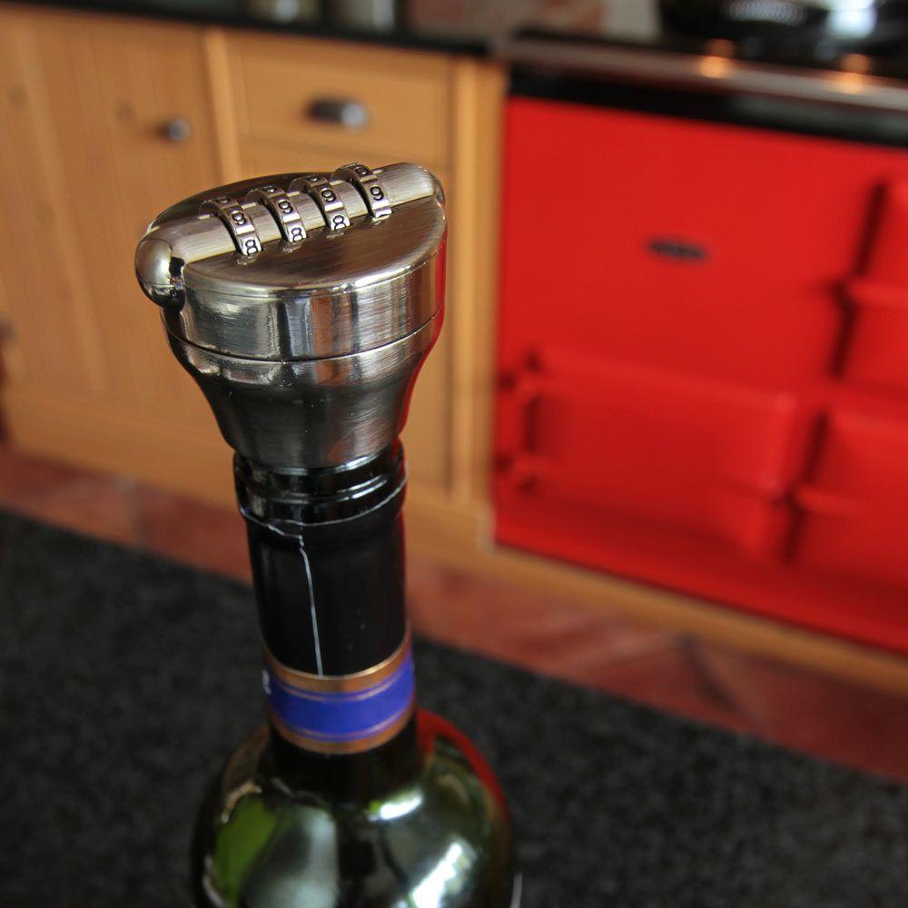 Wine Lock Red5 Gadget Shop Cool Kitchen Gadgets Bar Gadgets Wine Bottle