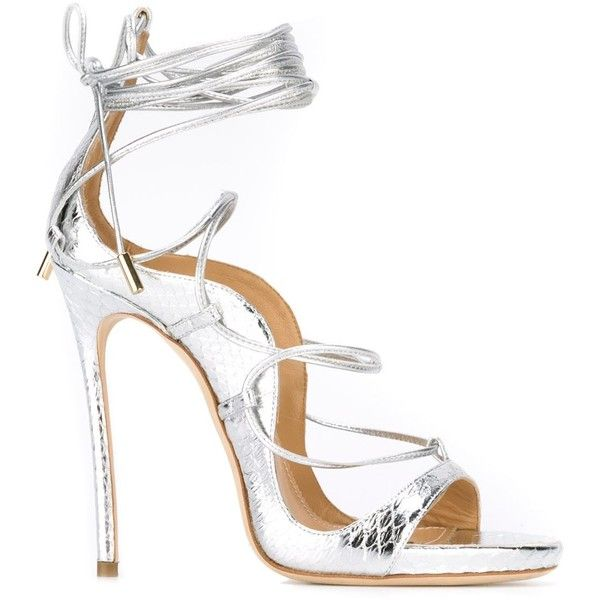 strappy sandals - Metallic Dsquared2 jmoSRP