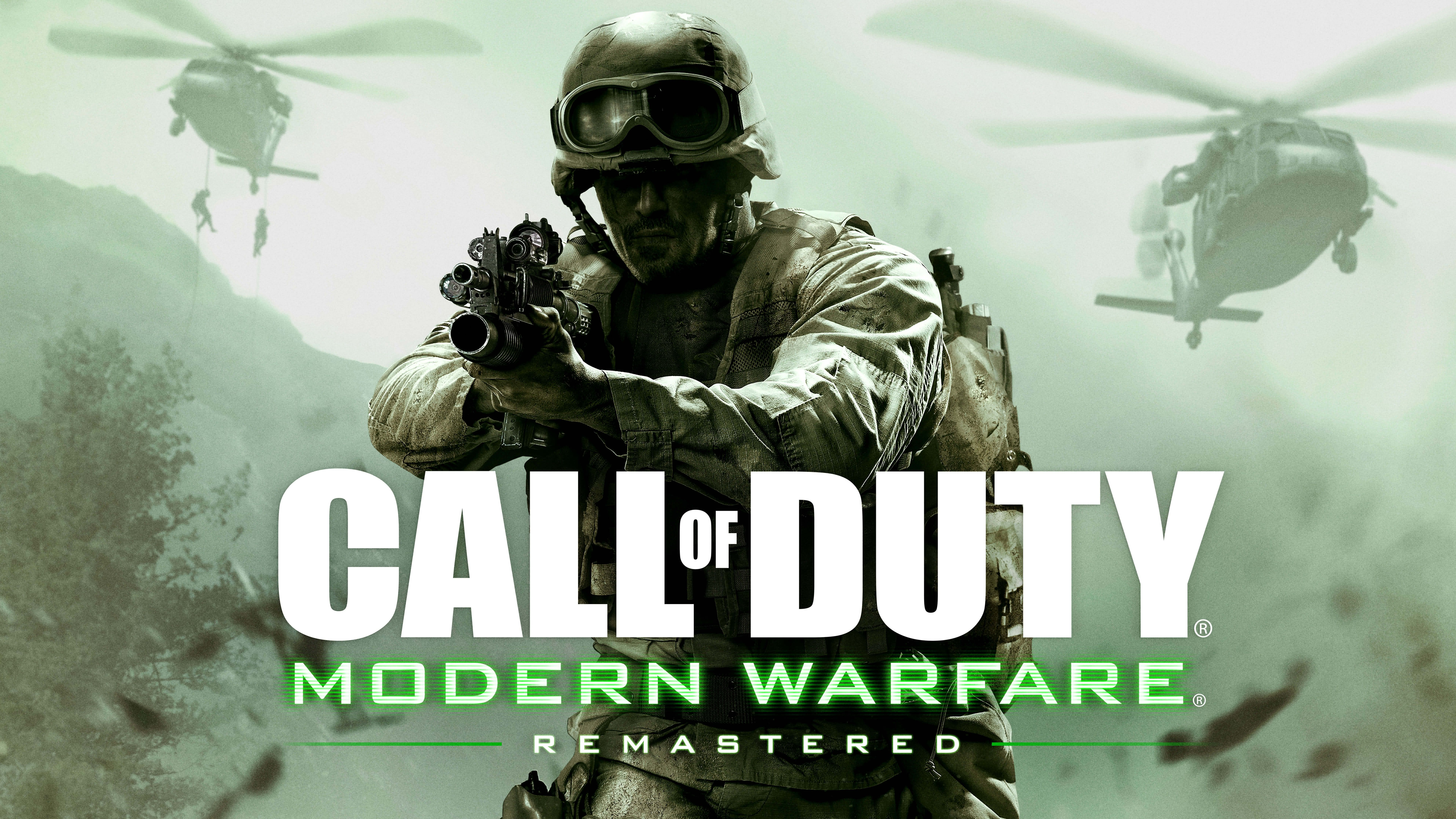 Call Of Duty 4 Modern Warfare Remastered Uhd 8k Wallpaper