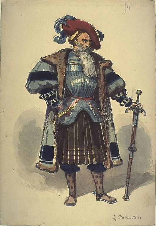 Kostumentwurf Fur Eine Mannliche Figur Mitglied Der Kriegsgruppe Aus Gotz Von Berlichinge Warhammer Fantasy Roleplay Larp Costume Historical Armor