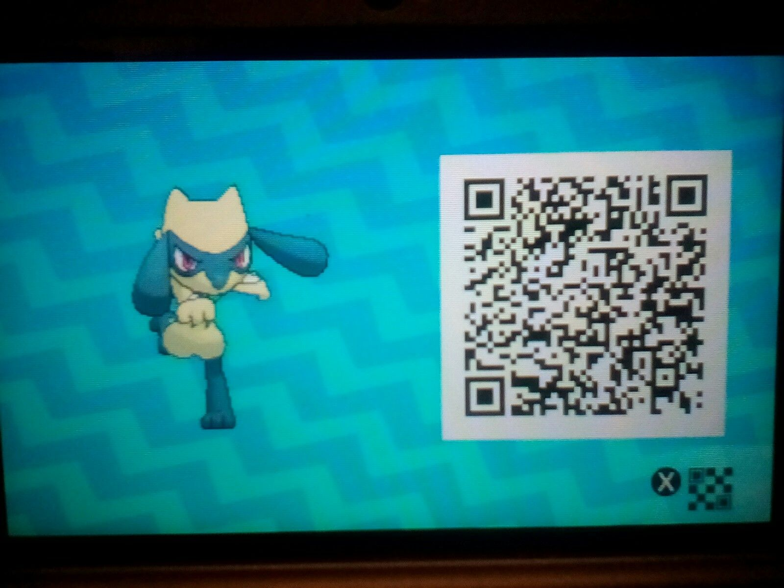 My Cousin Caught A Shiny Riolu Then I Scanned The Qr Code Now I