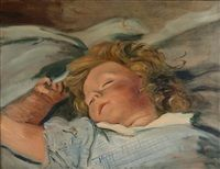 Portrait de Boby dormant, 1940 - 1945