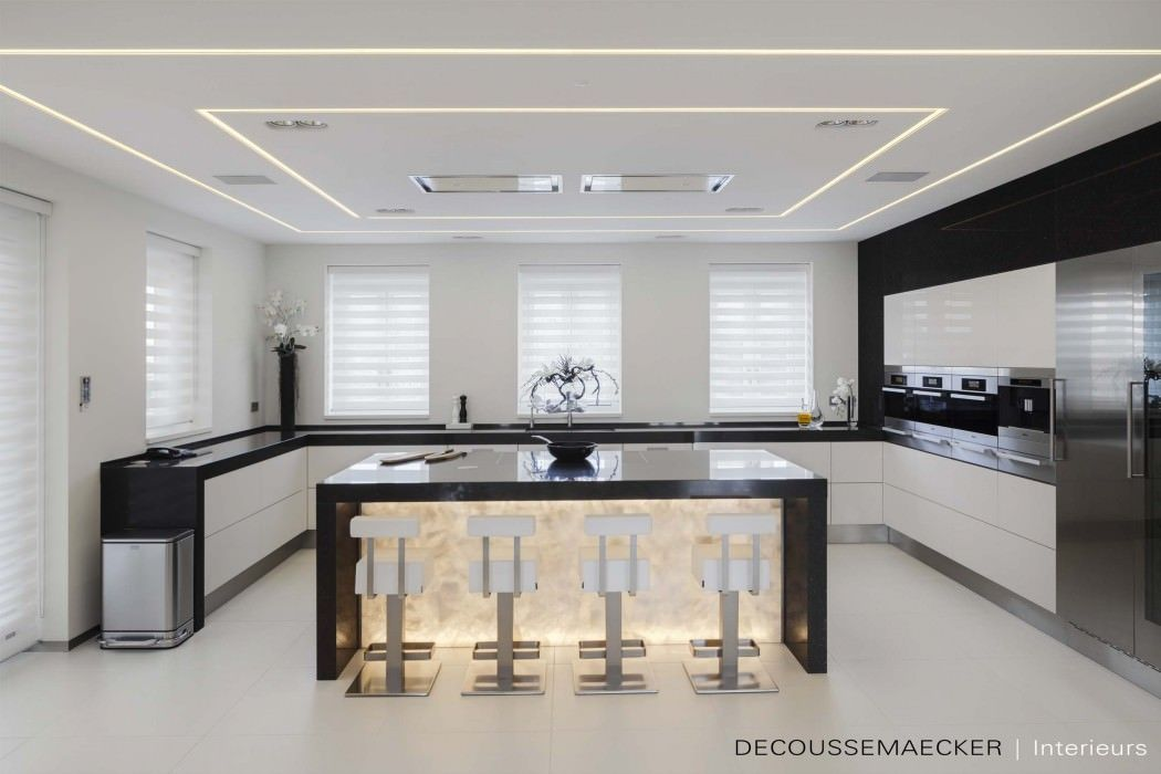 Private Residence by Guido Decoussemaecker Kitchens, Interiors and