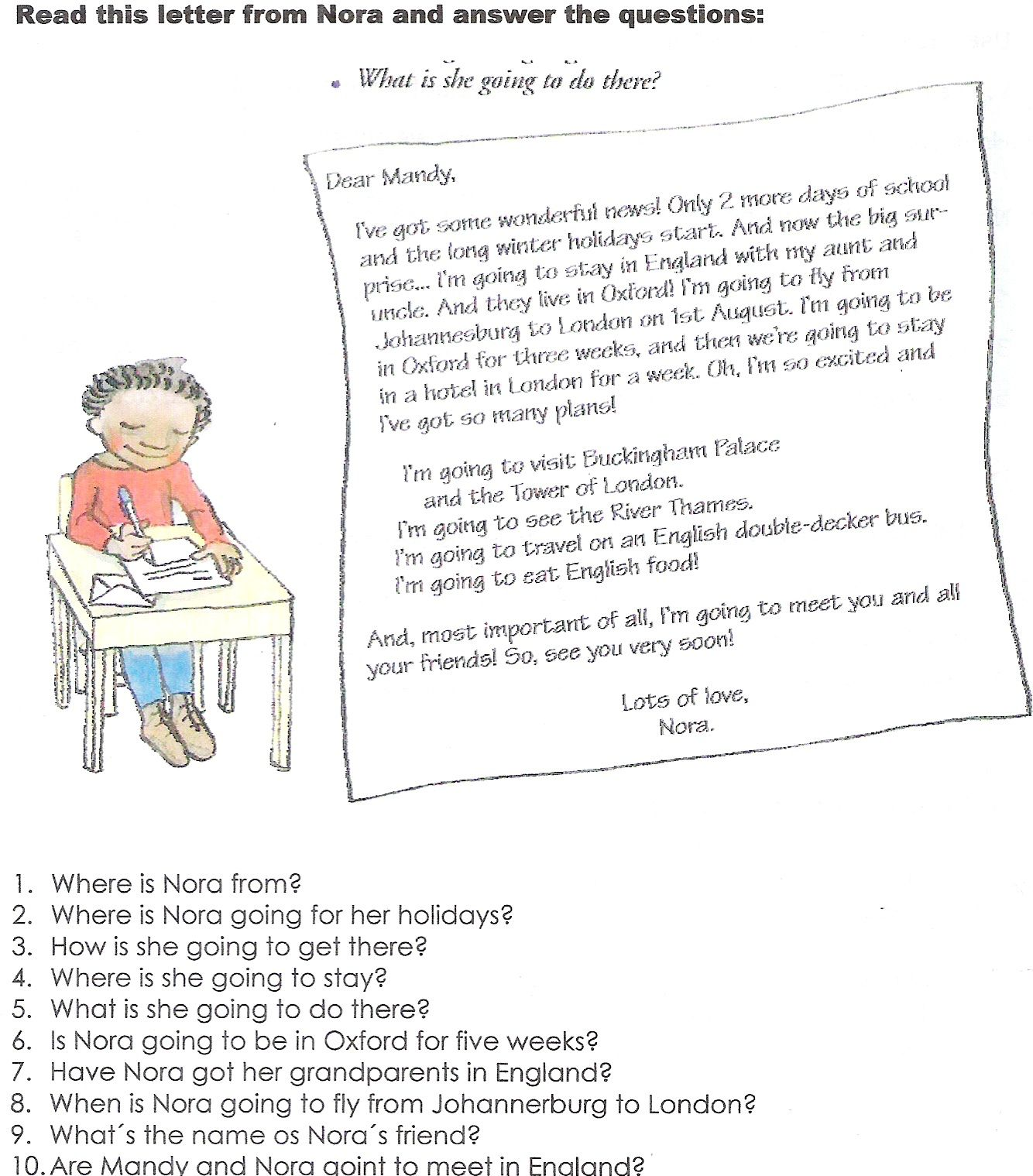 Present Simple Worksheets