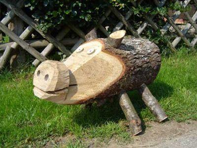 Fabol Fabrika Kreativ Blog Kerti Diszno Fatorzsbol Agakbol Osterhasen Basteln Holz Holzarbeiten Basteln Holz Basteln Weihnachten