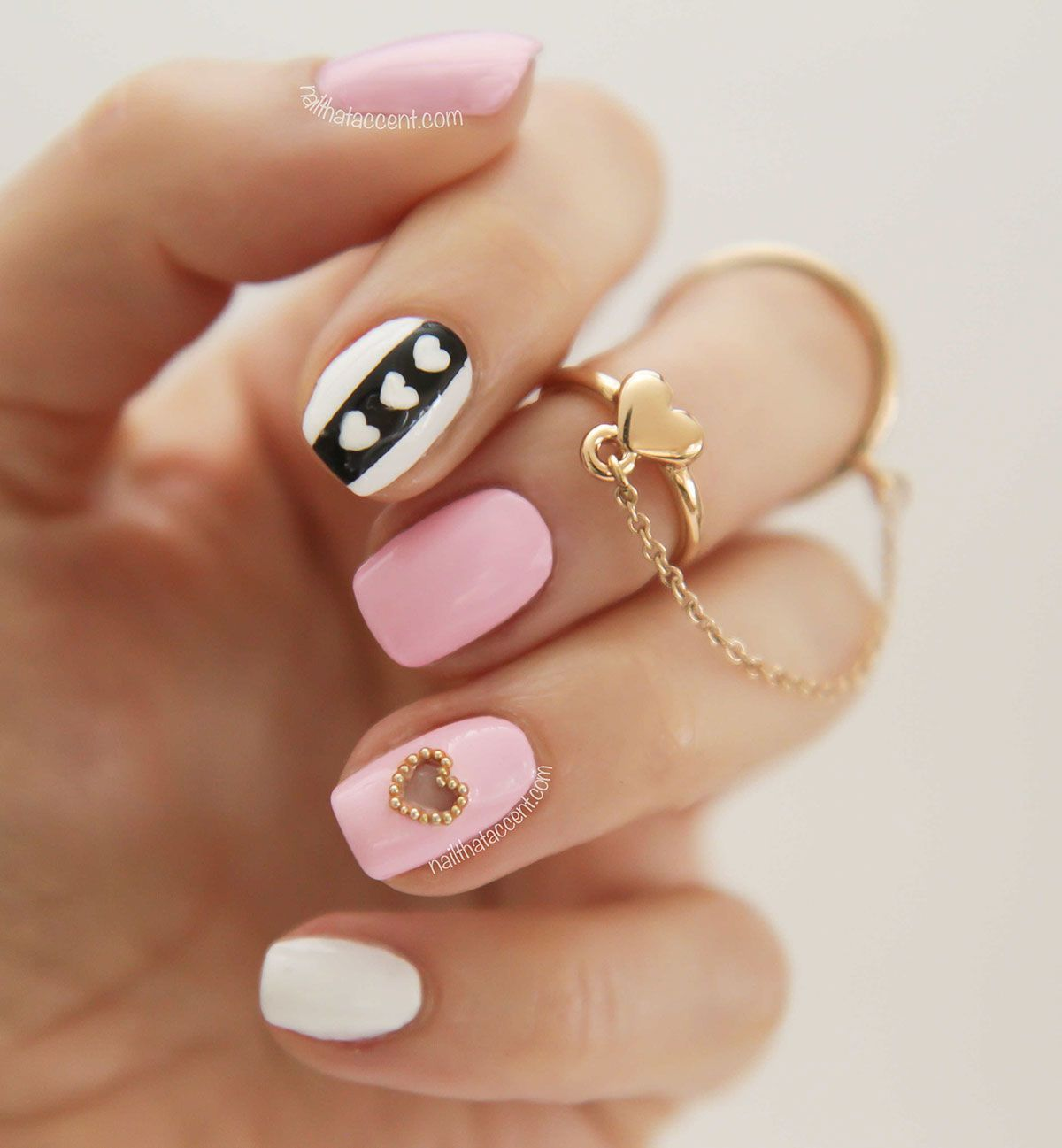 Pink Manicure 30 Ideas Of Nail Art Nail Art Nails Diy