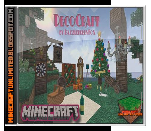 Minecraft Unlimited Mods: Descargar DecoCraft Mod para Minecraft [1.7.2 / 1.