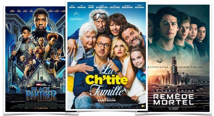 Box Office France du 28 février au 6 mars : La Ch'tite famille terrasse la concurrence