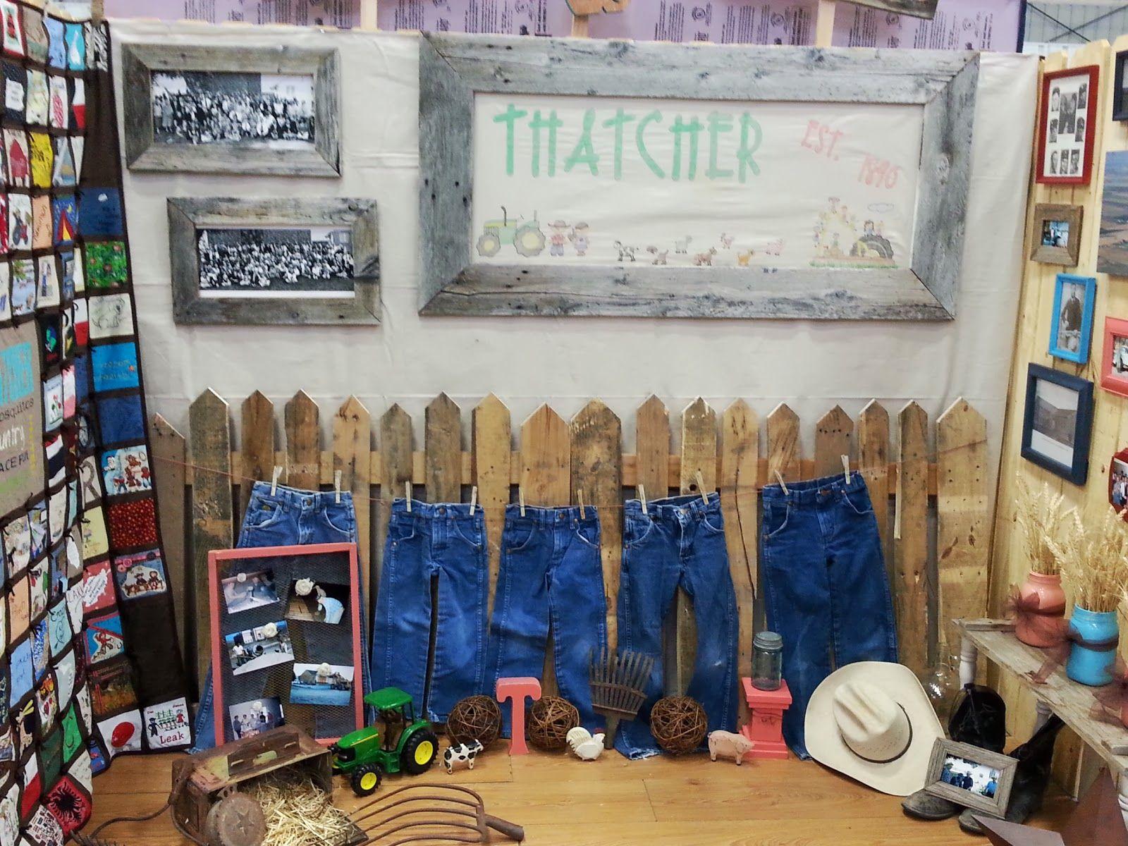 4 H Fair Booth Ideas Community Fair Booth For The