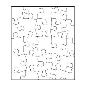 Blank jigsaw puzzle template polyvore educational for Jigsaw puzzle template for word