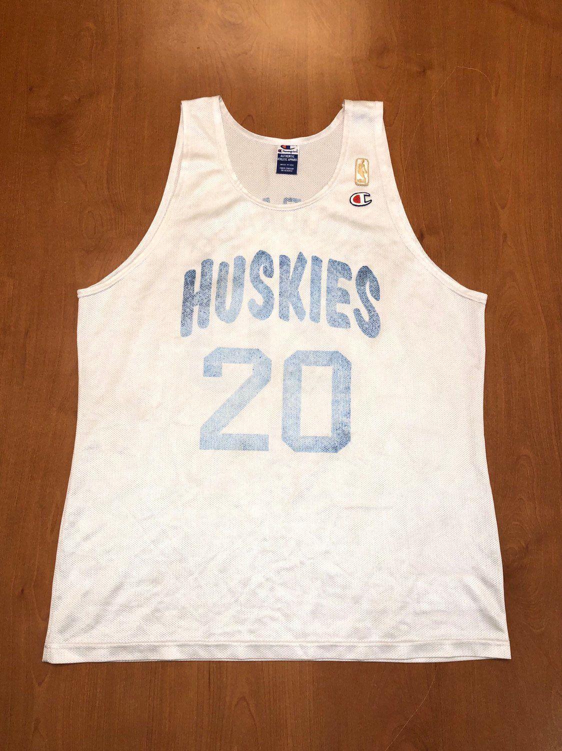 best service e01ab 91ba5 Vintage 1996 Damon Stoudamire Toronto Huskies Jersey Size 44 ...