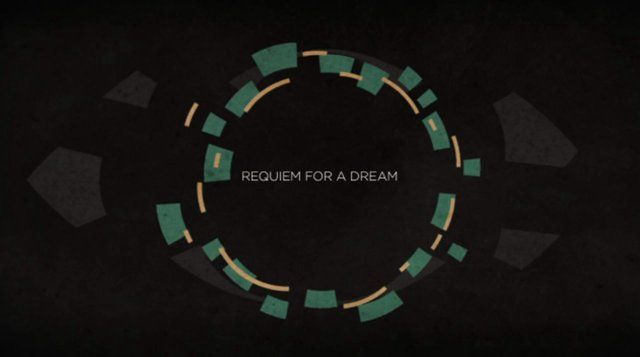 audio: Lux Aeterna (DJ Cheeseball Remix) - Clint Mansell  ////A title sequence I designed and animated from my own concept for the film Requiem For A Dream (2000) by Darren Aronofsky. Saul Bass was my inspiration for the look and feel of this piece.  Check out the process and more at my website! www.macj.tv