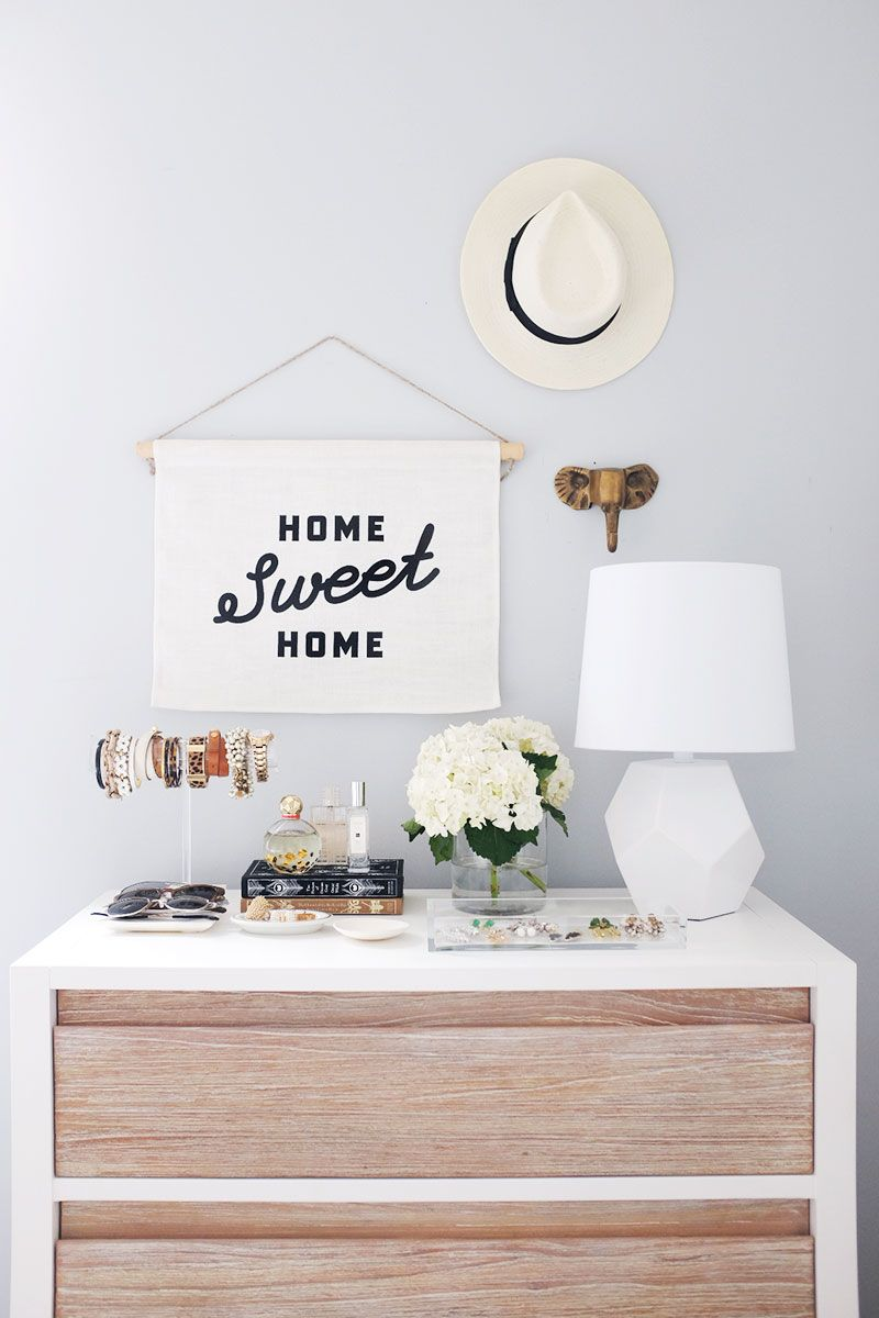 2 ways to make the most of styling your dresser theeverygirl - Dresser Decor