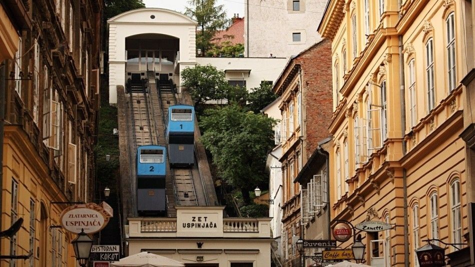 According To The European Best Destinations Zagreb Has The 2nd Best Funicular In Europe Http Bit Ly 1tiedtv Not Bad For The Shortest Fun Amazing Destinations