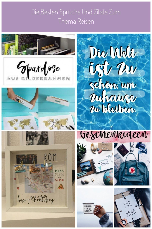 DIY Reise-Spardose & 7 Spartipps für die nächste Reise #reisen geschenke