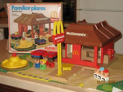 use to have this awesome Mcdonalds play set. It was so ...