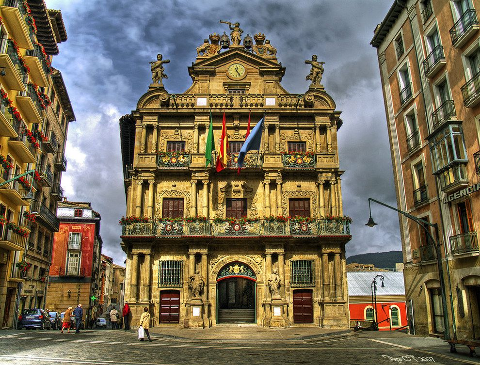 Pamplona Navarra Pamplona Spain Pamplona Spanish Towns