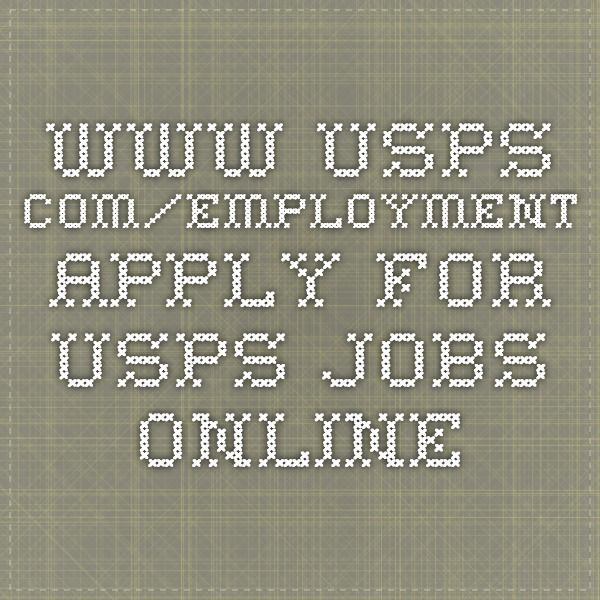 Apply for USPS Jobs Online (With