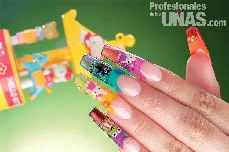 Nombre de diseño en uñas (mails): Divertida amistad, Diversión sin ...