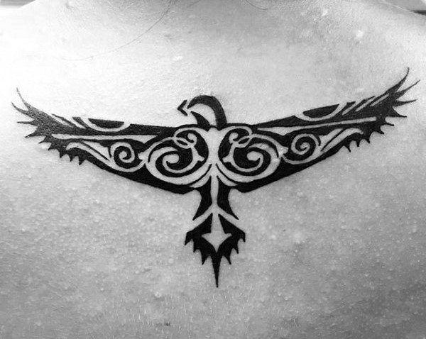 38c255769 40 Tribal Eagle Tattoo Designs For Men - Bird Ink Ideas | tatoos ...