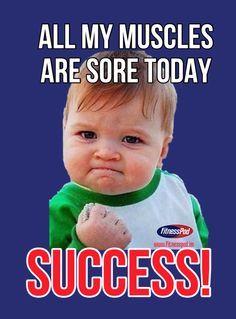 Sore Muscles Meme Beginning To Exercise Sort Of Pinterest