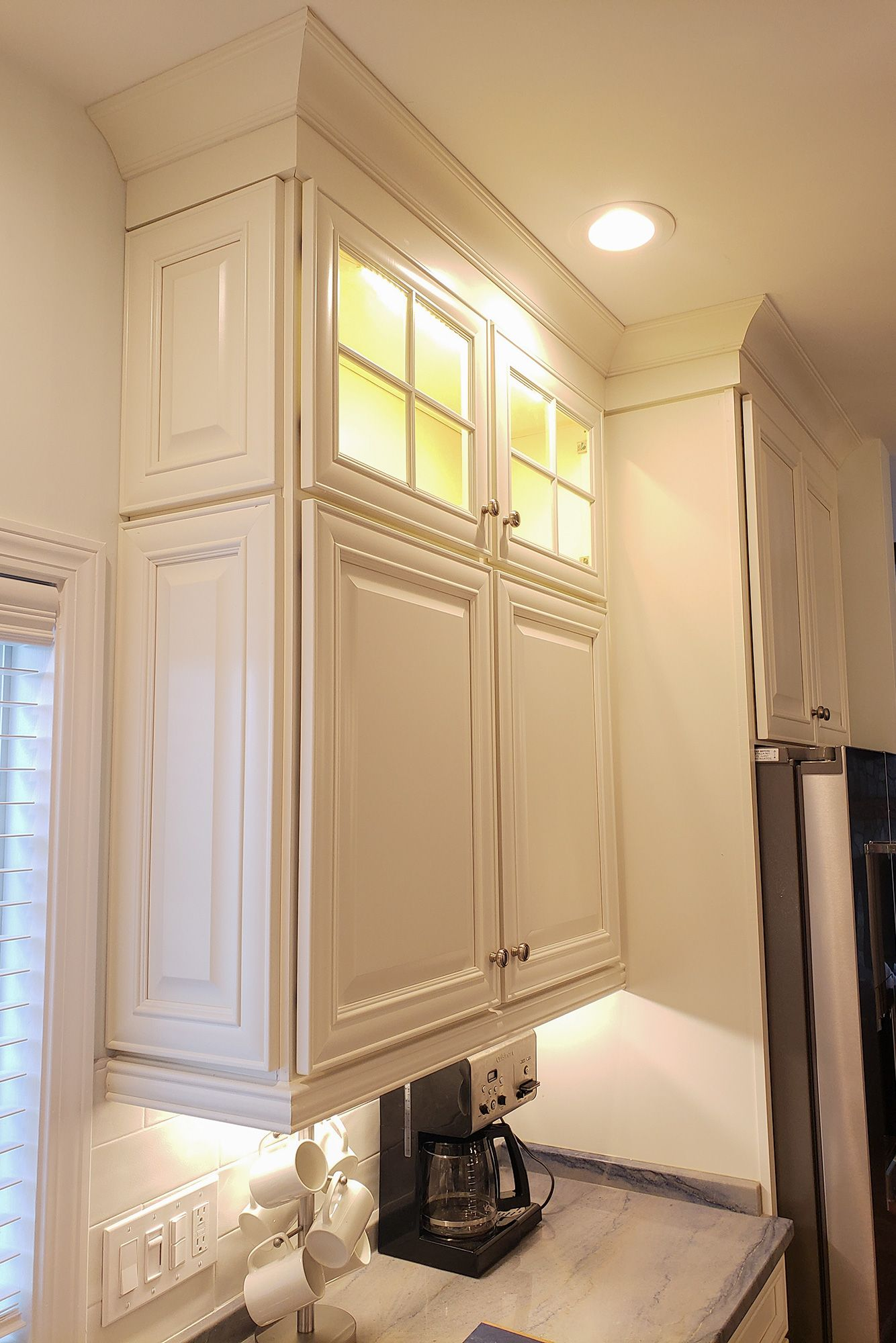 Wall Decorative Doors Finish Off The Ends Of This Stacked Cabinet Online Kitchen Cabinets Cabinet Cabinets Online