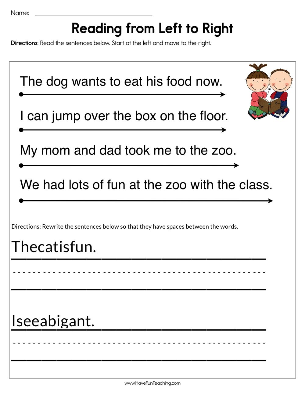 Pin By Have Fun Teaching On Preschool In 2020 Have Fun Teaching Reading Skills Reading Fluency