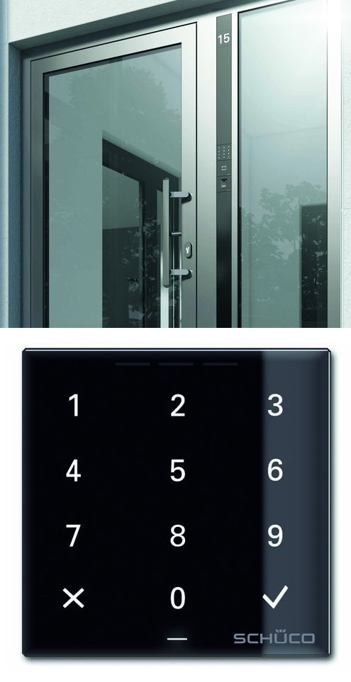 Schüco keyless entry systems. There is a wide choice of systems available for controlling doors fitted with the Schüco door manager. & Schüco keyless entry systems. There is a wide choice of systems ...