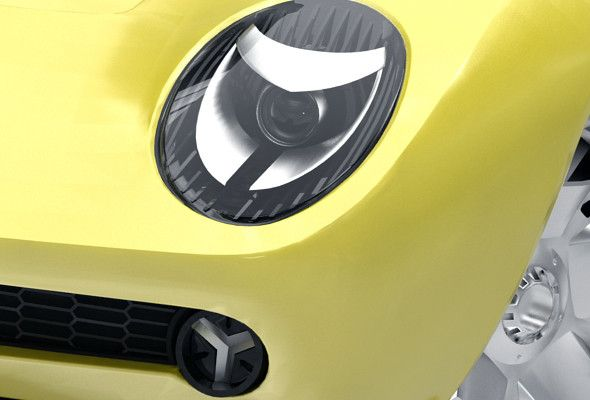 2006 Lamborghini Miura Concept Vehicle Lights Light Concepts