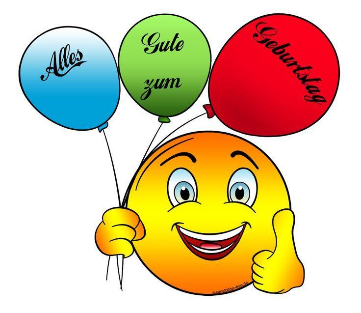 Pin Von Heidi Deltoro Auf Birthday Clips Smiley Geburtstag