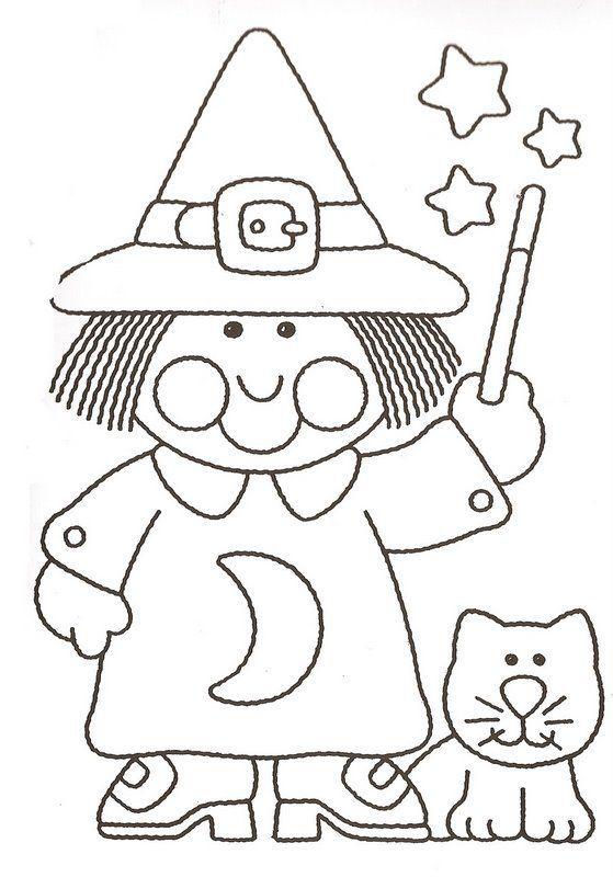 bruxa-bruxas-colorir-pintar-desenho-desenhos-moldes-risco-molde ...