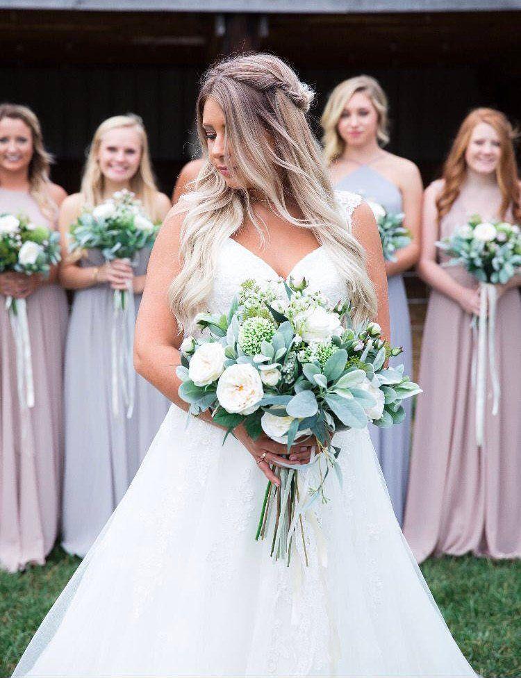 Silk Wedding Bouquet,Brides Bouquet, Wedding Bouquet, Bridesmaid Bouquets, Boho Boquets, Boho Bride, Garden Fresh Bouquet