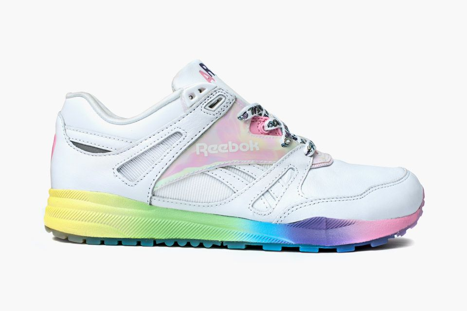 Areta Szpura's Candy Colored Reebok Shoe Sneakers  Sneakers
