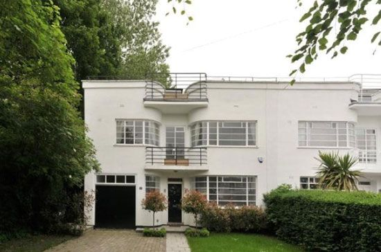 On the market Grade IIlisted 1930s fivebedroom art deco property in Hampstead Garden Suburb, London N2 is part of bedroom Art Decor - We had to do a double take on this as we featured a similar one not to long ago  But fear not, this grade IIlisted 1930s fivebedroom art deco property