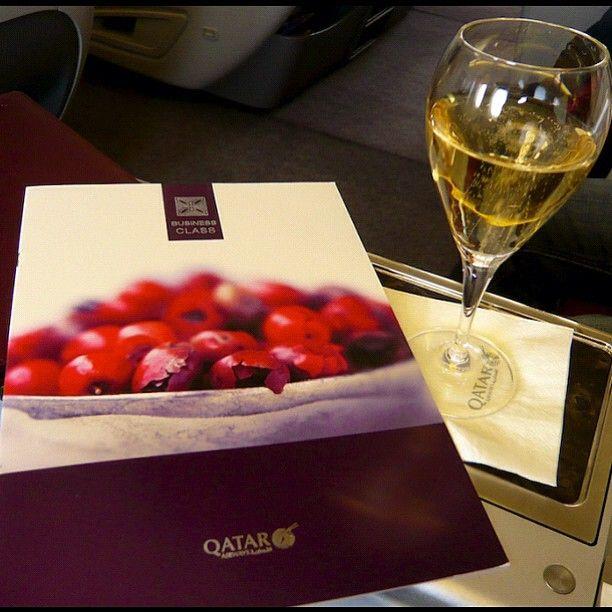 Alexcmanon Qatarairways Business Class Menu Webstagram The Best Instagram Viewer Business Class Qatar Airways Menu