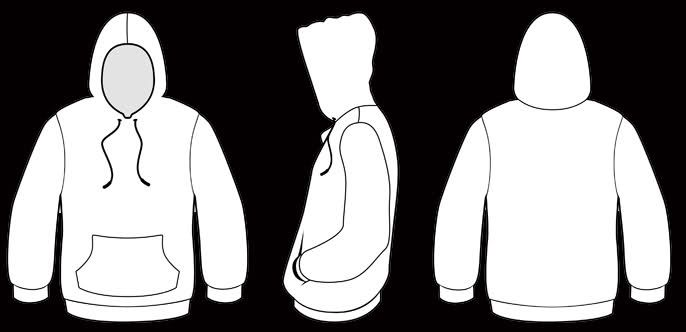 hoodie template - Google Search