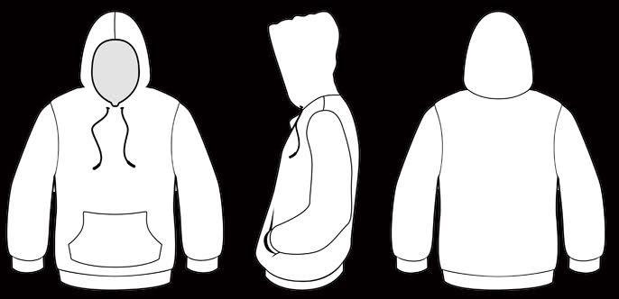 Ausgezeichnet Hoodie Design Vorlage Fotos - Dokumentationsvorlage ...