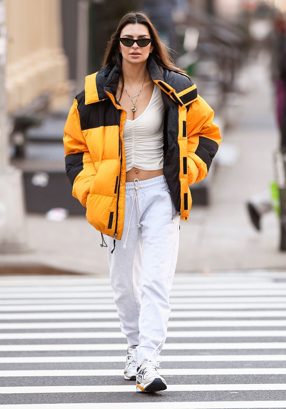 6 Ways To Style North Face Jackets Like Jessica Biel Emrata And More Whowhatwear Com In 2020 North Face Puffer Jacket North Face Jacket Outfit North Face Jacket [ 1719 x 1200 Pixel ]