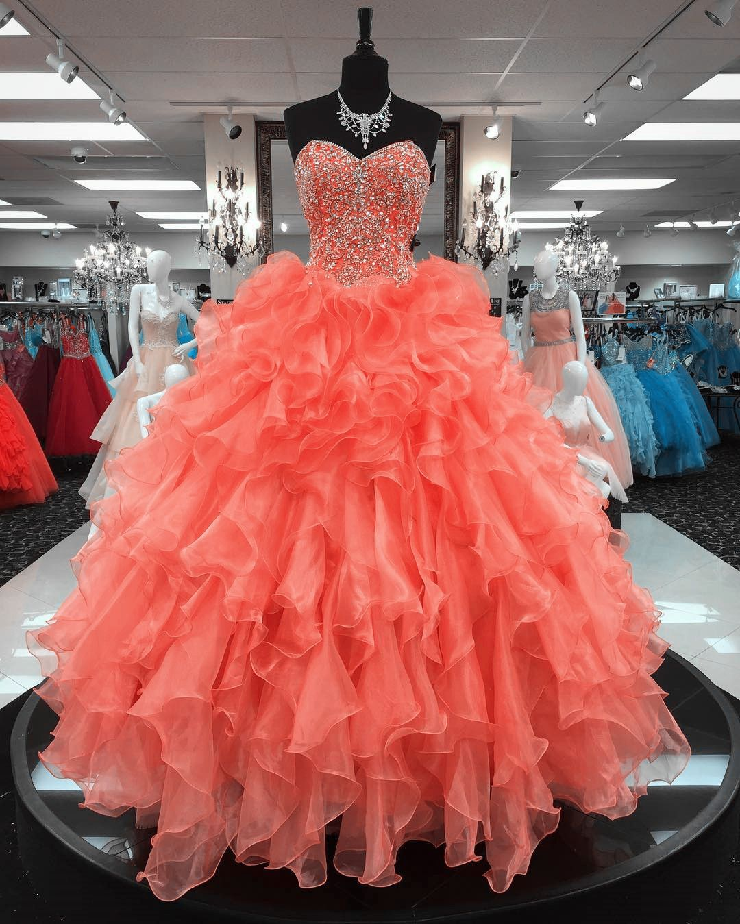 coral quinceanera dresses,ball gowns quinceanera dresses,sweet 16 ...