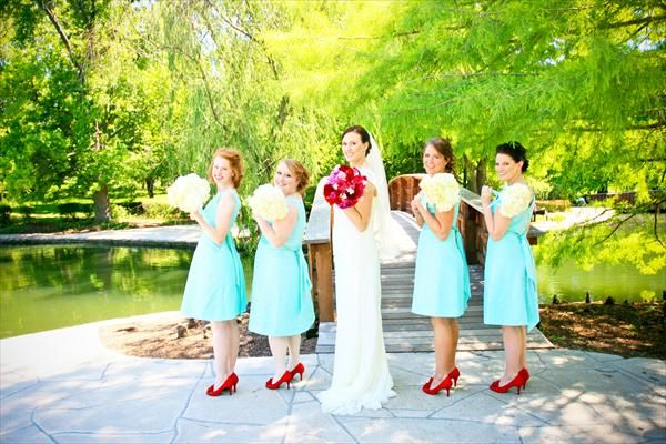 Red And Light Blue Wedding Colors Rating Submitted By Emmie Combes Bride Date 06