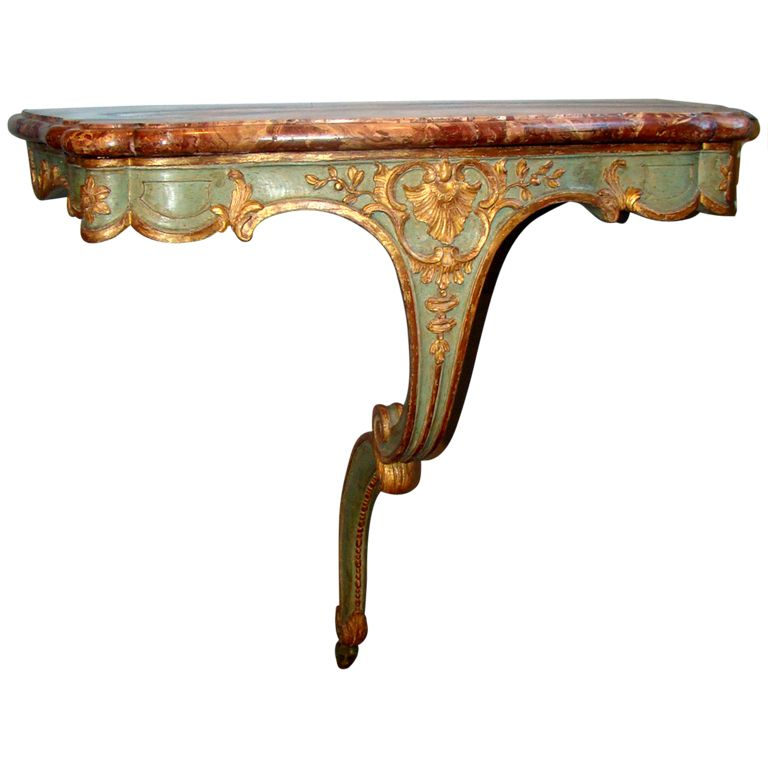 1stdibs   French Régence One Leg Console Table Explore Items From 1,700  Global Dealers At 1stdibs