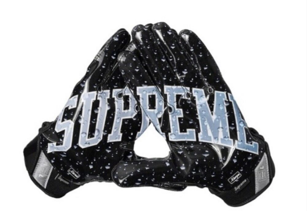 Supreme Nike Vapor Jet 4 0 Football Gloves Fashion Clothing Shoes Accessories Mensaccessories Glovesmittens Eba Football Gloves Mitten Gloves Nike Vapor