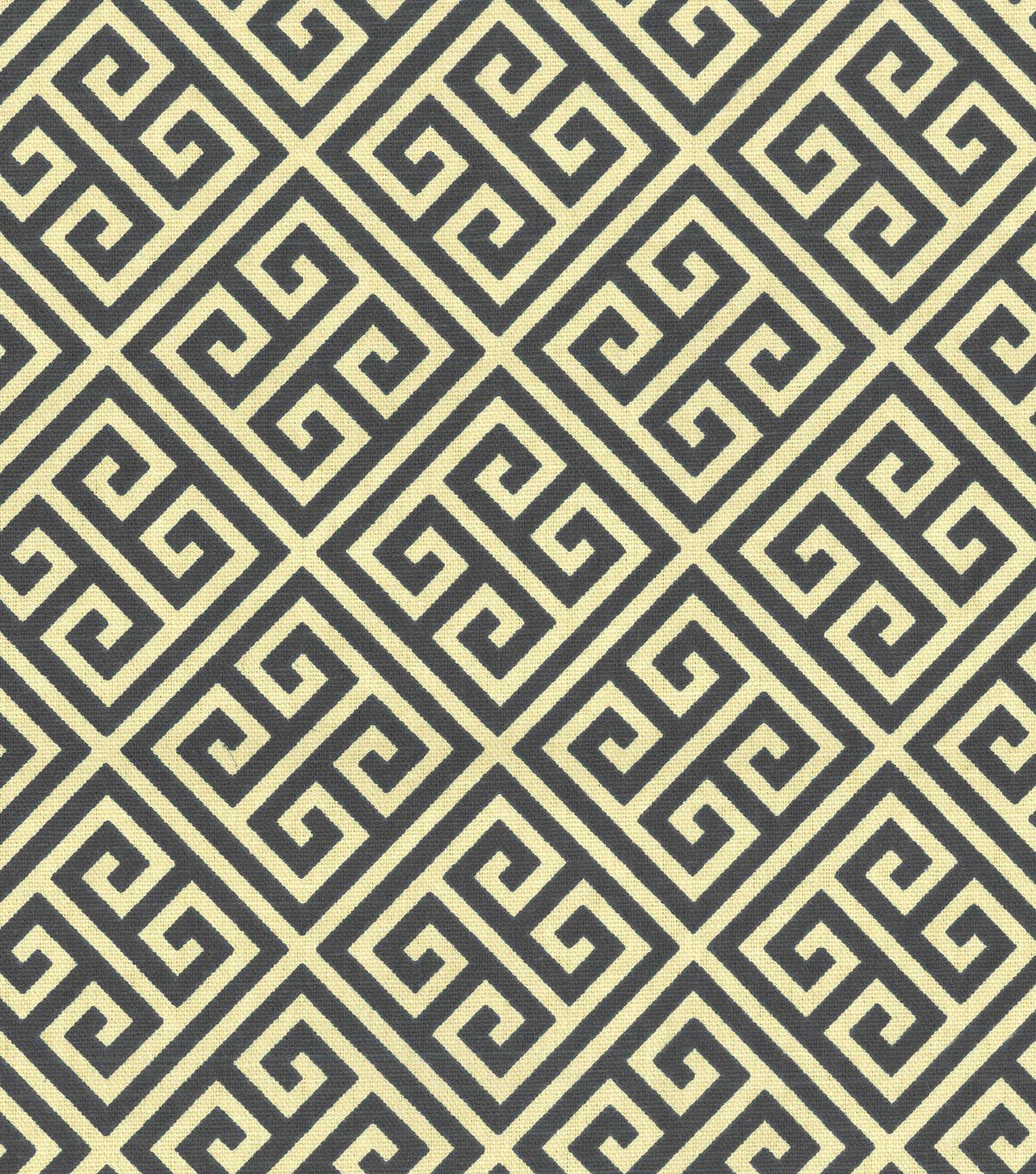 Upholstery Fabric-Waverly Low Key Onyx