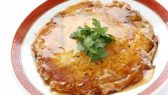 Shrimp egg foo yung brunch lunch or supper recipe brunch this fresh version of the classic chinese omelet has crisp forumfinder Image collections