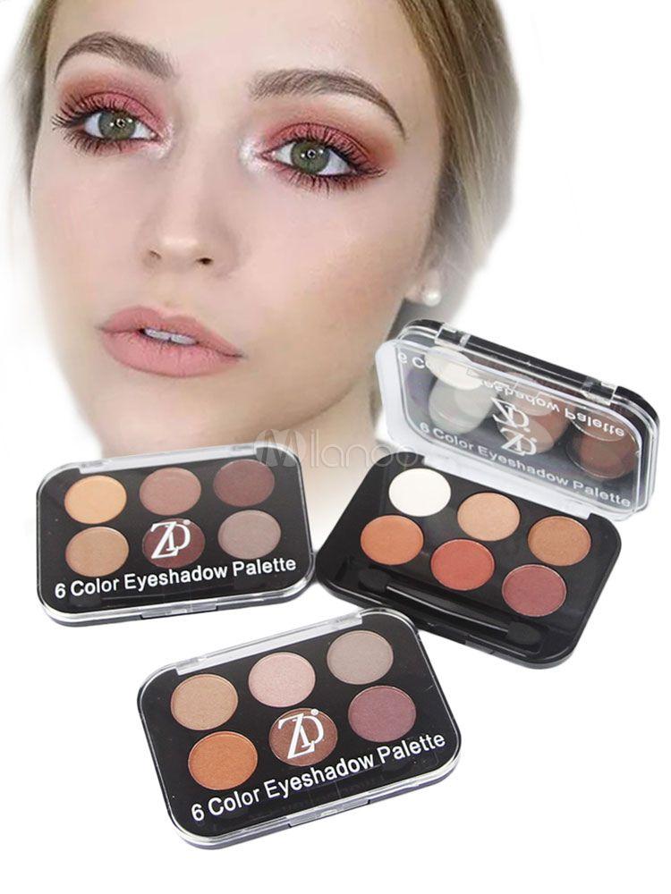 Brown Eyeshadow Women facilement appliquer le maquillage des yeux en 4 pièces #browneyeshadow