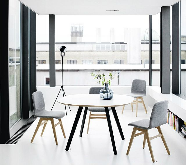 Bo Concept Furniture Design Living Spaces Modern Dining Room
