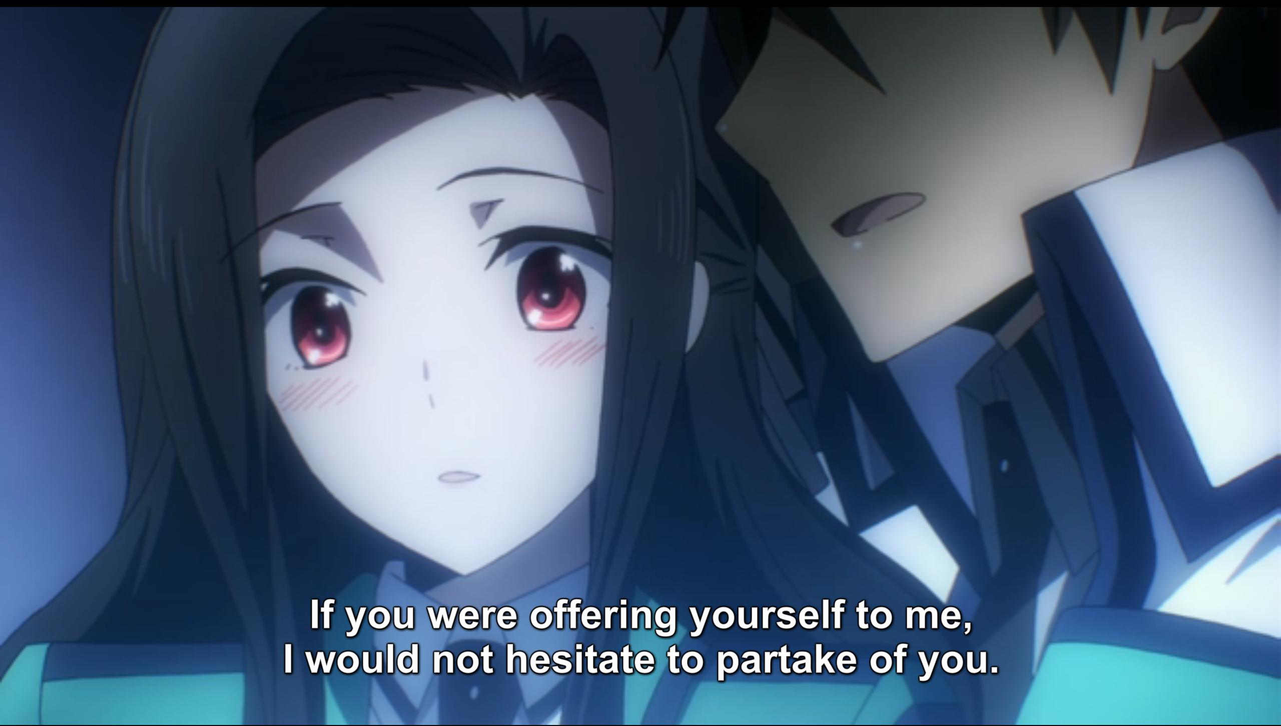 The Irregular at Magic High School episode 20 Tatsuya and